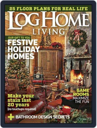 Log and Timber Home Living November 1st, 2015 Digital Back Issue Cover