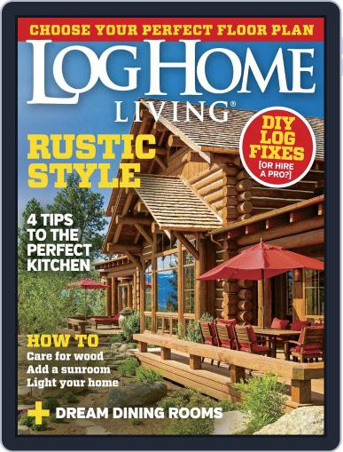 Log and Timber Home Living (Digital) September 1st, 2015 Issue Cover
