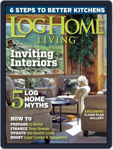 Log and Timber Home Living (Digital) March 16th, 2015 Issue Cover