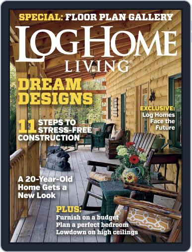 Log and Timber Home Living March 1st, 2015 Digital Back Issue Cover