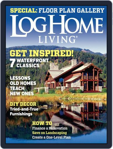 Log and Timber Home Living (Digital) May 15th, 2014 Issue Cover