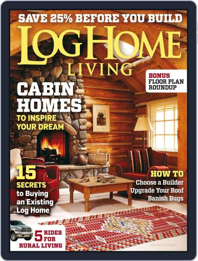 Log and Timber Home Living (Digital) April 8th, 2014 Issue Cover