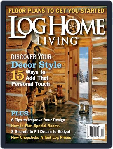 Log and Timber Home Living (Digital) October 15th, 2013 Issue Cover