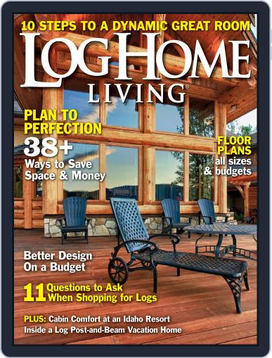 Log and Timber Home Living (Digital) April 9th, 2013 Issue Cover