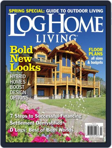 Log and Timber Home Living (Digital) March 13th, 2013 Issue Cover