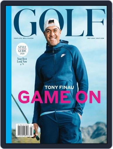 Golf May 1st, 2020 Digital Back Issue Cover