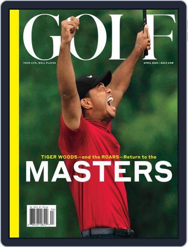 Golf April 1st, 2020 Digital Back Issue Cover