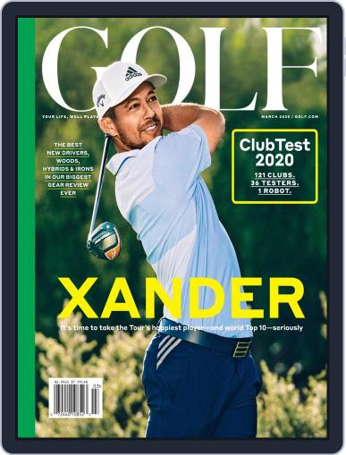 Golf March 1st, 2020 Digital Back Issue Cover