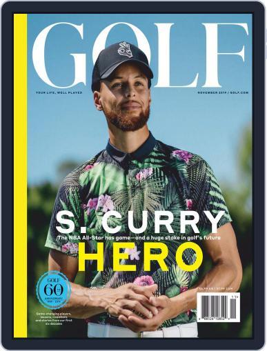 Golf November 1st, 2019 Digital Back Issue Cover