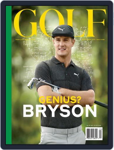 Golf September 1st, 2019 Digital Back Issue Cover