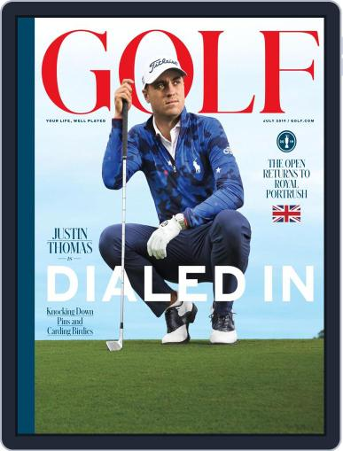 Golf July 1st, 2019 Digital Back Issue Cover