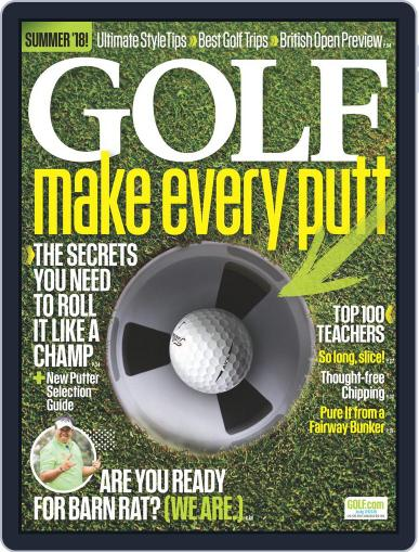 Golf (Digital) July 1st, 2018 Issue Cover