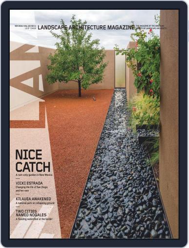 Landscape Architecture (Digital) November 1st, 2019 Issue Cover