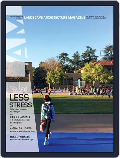 Landscape Architecture June 1st, 2019 Digital Back Issue Cover