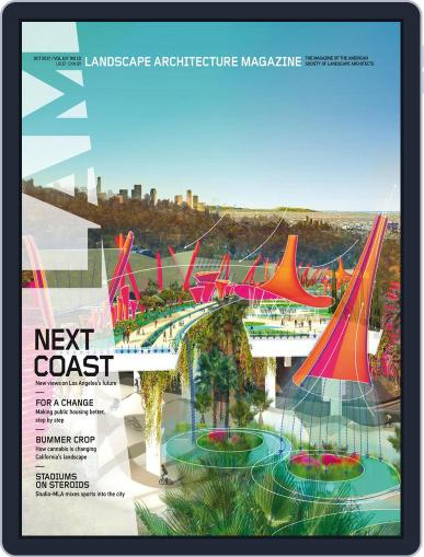 Landscape Architecture (Digital) October 1st, 2017 Issue Cover