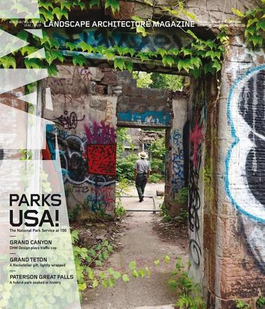 Landscape Architecture July 29th, 2016 Digital Back Issue Cover