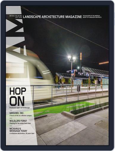 Landscape Architecture (Digital) April 29th, 2016 Issue Cover