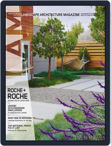 Landscape Architecture (Digital) February 1st, 2016 Issue Cover