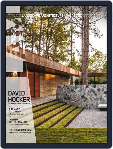 Landscape Architecture (Digital) December 1st, 2015 Issue Cover