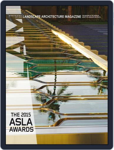 Landscape Architecture October 1st, 2015 Digital Back Issue Cover