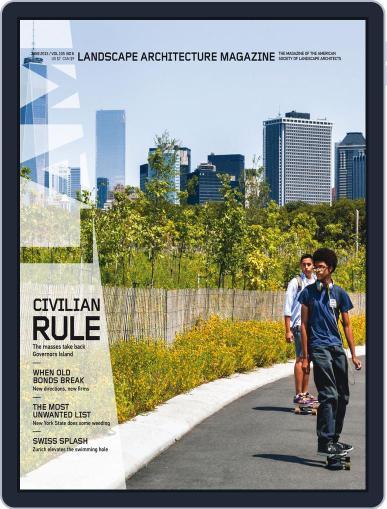 Landscape Architecture (Digital) June 1st, 2015 Issue Cover