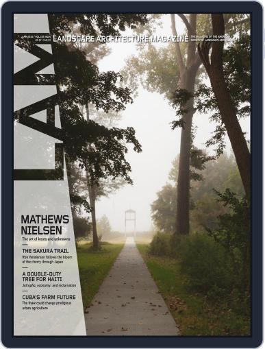 Landscape Architecture (Digital) March 31st, 2015 Issue Cover