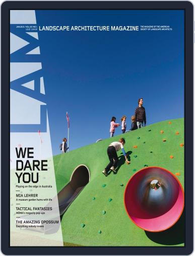 Landscape Architecture (Digital) January 5th, 2015 Issue Cover