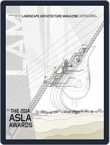 Landscape Architecture (Digital) September 30th, 2014 Issue Cover