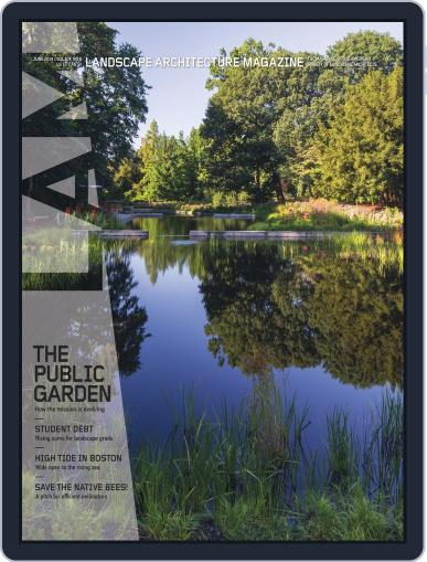 Landscape Architecture (Digital) May 30th, 2014 Issue Cover