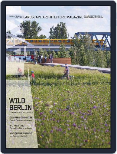 Landscape Architecture (Digital) February 28th, 2014 Issue Cover