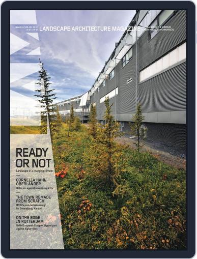 Landscape Architecture (Digital) October 29th, 2013 Issue Cover