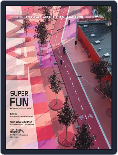 Landscape Architecture (Digital) June 25th, 2013 Issue Cover
