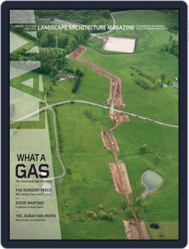 Landscape Architecture May 28th, 2013 Digital Back Issue Cover