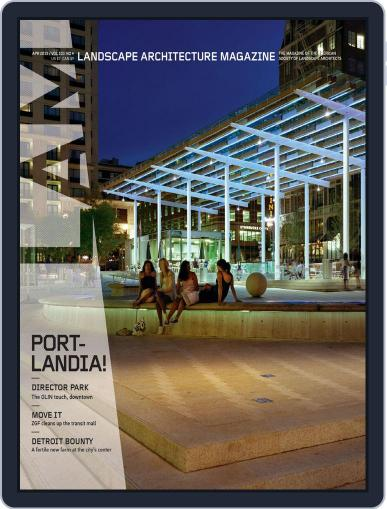 Landscape Architecture (Digital) March 26th, 2013 Issue Cover