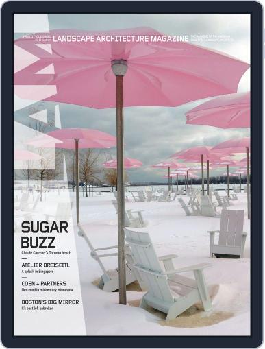 Landscape Architecture (Digital) December 27th, 2012 Issue Cover