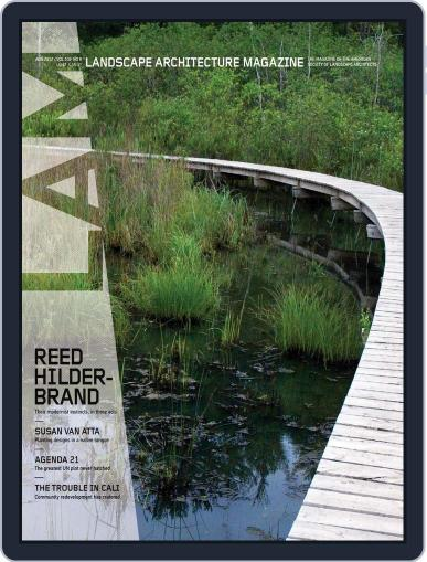 Landscape Architecture (Digital) July 25th, 2012 Issue Cover