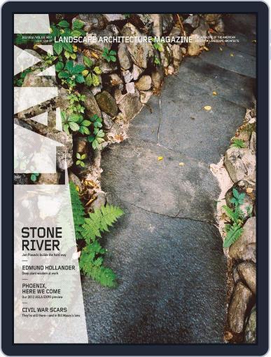 Landscape Architecture (Digital) June 26th, 2012 Issue Cover