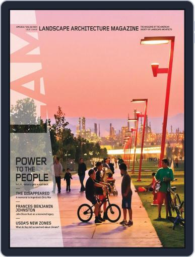 Landscape Architecture (Digital) March 26th, 2012 Issue Cover