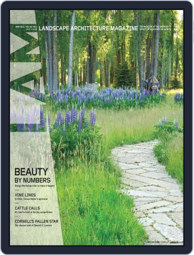 Landscape Architecture (Digital) February 27th, 2012 Issue Cover