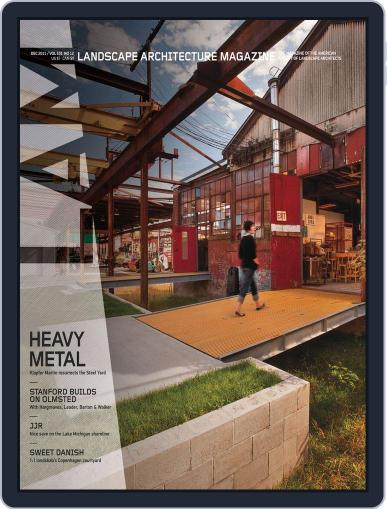 Landscape Architecture (Digital) November 28th, 2011 Issue Cover