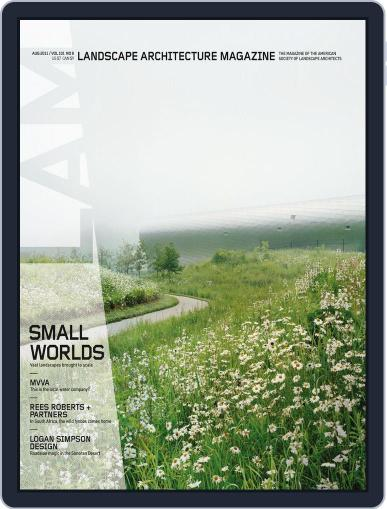 Landscape Architecture (Digital) July 24th, 2011 Issue Cover