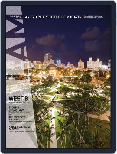 Landscape Architecture (Digital) April 26th, 2011 Issue Cover