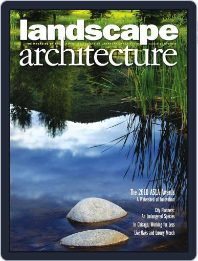 Landscape Architecture (Digital) July 27th, 2010 Issue Cover