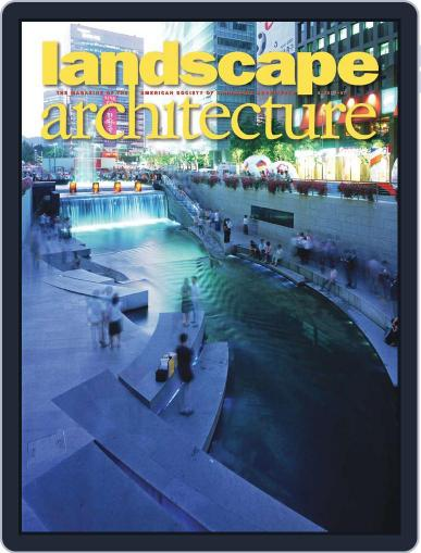 Landscape Architecture May 20th, 2010 Digital Back Issue Cover