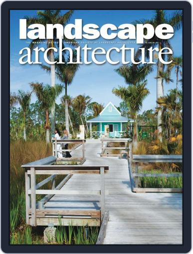 Landscape Architecture (Digital) April 16th, 2010 Issue Cover