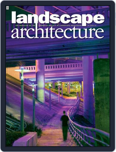 Landscape Architecture (Digital) September 22nd, 2009 Issue Cover