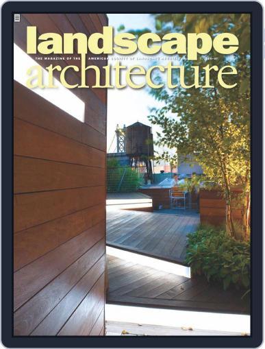 Landscape Architecture (Digital) June 19th, 2009 Issue Cover