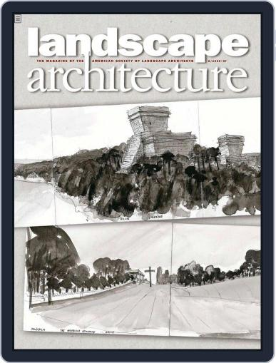 Landscape Architecture May 19th, 2009 Digital Back Issue Cover