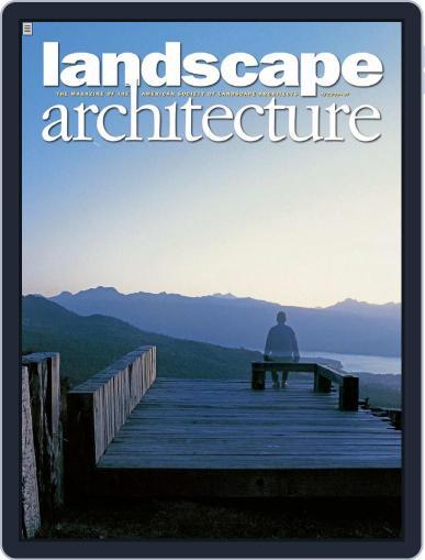 Landscape Architecture (Digital) March 26th, 2009 Issue Cover