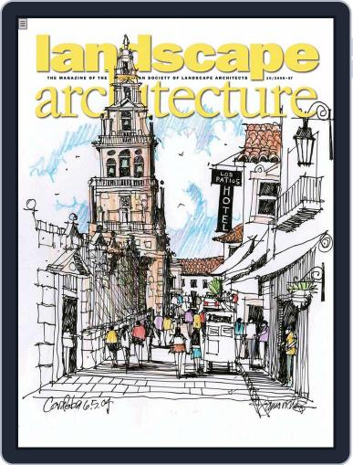 Landscape Architecture (Digital) August 26th, 2008 Issue Cover